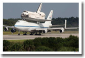 NASA Space Shuttle - 747 Piggy Back Ride - Classroom Engineering Poster
