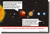 Pluto's Plea Falls On Deaf Ears - Solar System Planet - Funny Astronomy PosterEnvy Poster (ms008)
