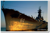 Navy Battleship USS Alabama