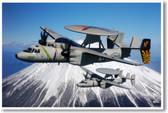E-2 U.S. Navy Hawkeye Aircraft