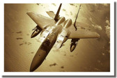 F-15 Eagle Tactical Fighter Poster