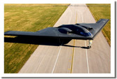 B-2 Stealth Bomber on the Runway