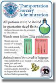 TSA Potions - NEW Humor Poster
