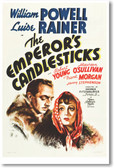 The Emperor's Candlesticks - NEW Vintage Reprint Poster