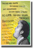 Those Who Have Expressed Doubts - Billy Joel - NEW Famous Musician Poster