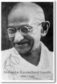 Gandhi - NEW Famous Person Poster