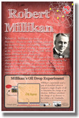 Robert Millikan - Red - NEW Famous Scientist Poster