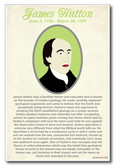 James Hutton - NEW Famous Person Poster