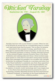Michael Faraday - NEW Famous British Scientist Poster