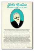 John Dalton - NEW Famous Scientist Poster