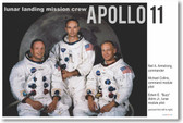 Apollo 11 Landing Crew - NEW Famous Person Poster