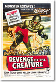 Revenge of the Creature - NEW Vintage Movie Reprint Poster