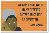Maya Angelou - NEW Famous Person Poster