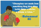 Muhammed Ali 2 - NEW Famous Person Poster