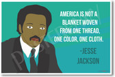 Jesse Jackson - NEW Famous African American Civil Rights Leader Poster