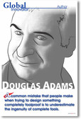 "Douglas Adams - ""A common mistake..."""