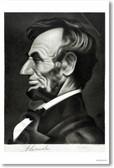 U.S. President Abraham Lincoln Illustration