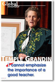 Temple Grandin - I Cannot Emphasize the Importance of a Good Teacher