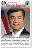 Ambassador Gary Locke - First Asian American Governor