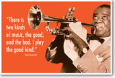 Louis Armstrong - There is Two Kinds of Music...