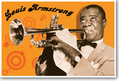 Louis Armstrong - NEW Famous Person Music Poster