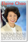 Elaine Chao - Asian American Secretary Of Labor