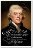 Thomas Jefferson - A Bill of Rights