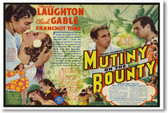 Clark Gable - Mutiny On The Bounty - NEW Vintage Movie Poster