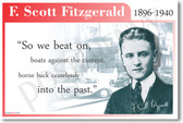 F. Scott Fitzgerald - So We Beat On Boats Against the Current Borne Back Ceaselessly Into the Past