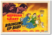 Bringing Up Baby - NEW Vintage Movie Poster