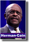 Herman Cain 2012 African American Presidential Candidate NEW Poster