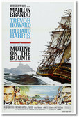 Mutiny On The Bounty - NEW Vintage Movie Poster
