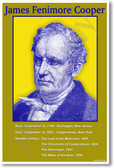 James Fenimore Cooper - American Author