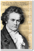 Ludwig van Beethoven - Music is the mediator between the spiritual and the sensual life