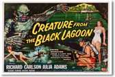 Creature From The Black Lagoon 2 - NEW Vintage Reprint Poster
