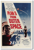 Plan 9 From Outer Space - NEW Vintage Movie Reprint Poster