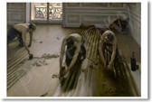 Les Raboteurs De Parquet - Gustave Caillebotte 1875 - NEW Fine Arts Poster