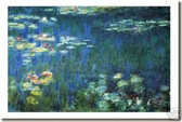 Waterlilies (Green Reflection) by Claude Monet