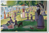 A Sunday Afternoon on the Island of La Grande Jatte - 1886 - Georges-Pierre Seurat