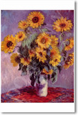 Bouquet of Sunflowers 1881 - Claude Monet