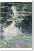 Pond with Water Lilies 1907 - Claude Monet