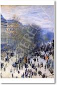 Boulevard des Capucines 1873 - Claude Monet