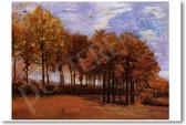 Autumn Landscape 1885 - Vincent van Gogh