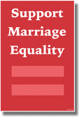 Support Marriage Equality 2 - Gay Rights NEW PosterEnvy Poster