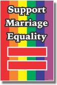 Rainbow Flag - Support Marriage Equality - NEW PosterEnvy Poster