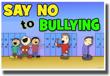 Say No To Bullying - NEW Classroom Motivational PosterEnvy Poster