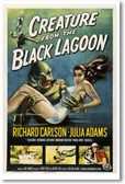 Creature From The Black Lagoon - NEW Vintage Reprint Poster