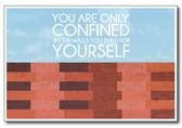 Walls - NEW Classroom Motivational Poster
