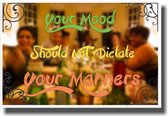 Your Mood - NEW Classroom Motivational Poster