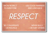 Respect - NEW Classroom Motivational Poster
